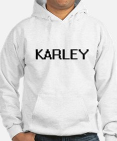 Karley Digital Name Hoodie Sweatshirt