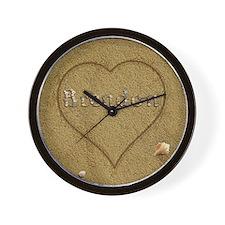 Brendon Beach Love Wall Clock