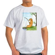 Wirehair Dox Fishing T-Shirt