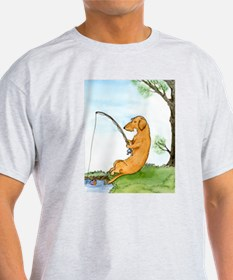 Wirehair Dox Fishing T-Shirt