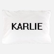 Karlie Digital Name Pillow Case