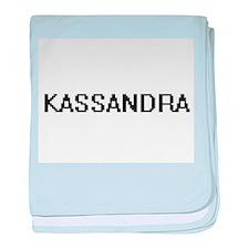 Kassandra Digital Name baby blanket