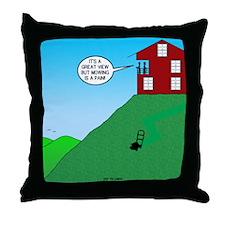 Cliff House Throw Pillow