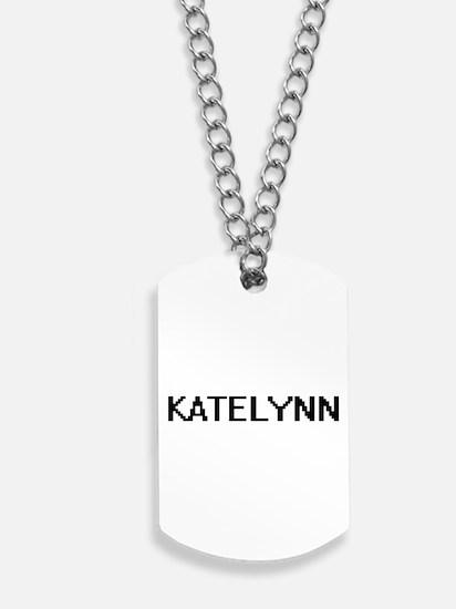 Katelynn Digital Name Dog Tags