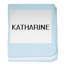 Katharine Digital Name baby blanket