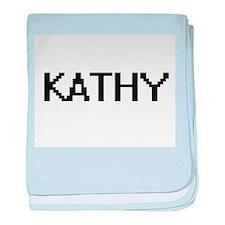 Kathy Digital Name baby blanket