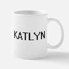 Katlyn Digital Name Mugs