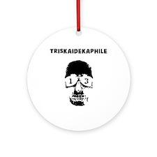 Triskaidekaphile Ornament (Round)