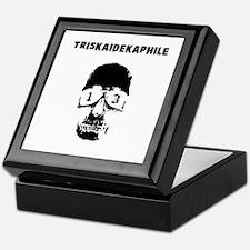 Triskaidekaphile Keepsake Box