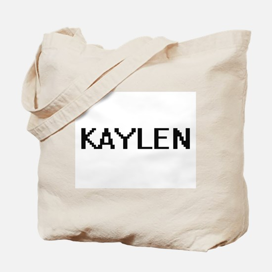 Kaylen Digital Name Tote Bag