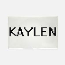 Kaylen Digital Name Magnets