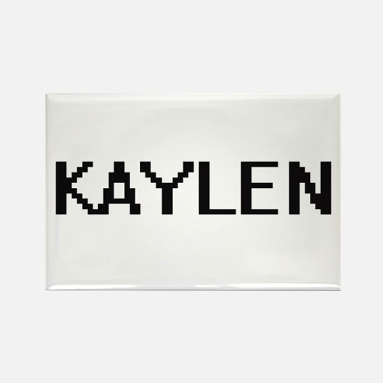 Kaylen Digital Name Magnets