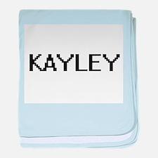 Kayley Digital Name baby blanket