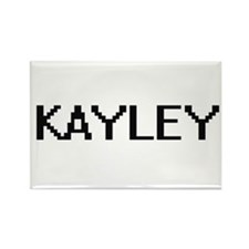 Kayley Digital Name Magnets