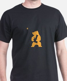 California Smoking Bear T-Shirt