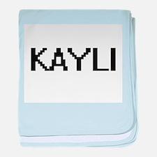 Kayli Digital Name baby blanket