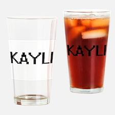 Kayli Digital Name Drinking Glass