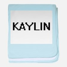 Kaylin Digital Name baby blanket