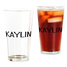 Kaylin Digital Name Drinking Glass