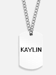 Kaylin Digital Name Dog Tags