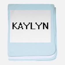 Kaylyn Digital Name baby blanket