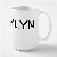 Kaylyn Digital Name Mugs