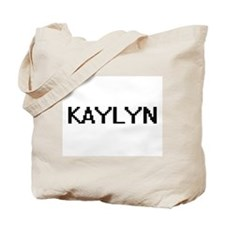 Kaylyn Digital Name Tote Bag