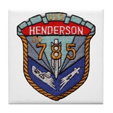 USS HENDERSON Tile Coaster