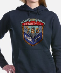 USS HENDERSON Women's Hooded Sweatshirt