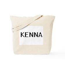 Kenna Digital Name Tote Bag