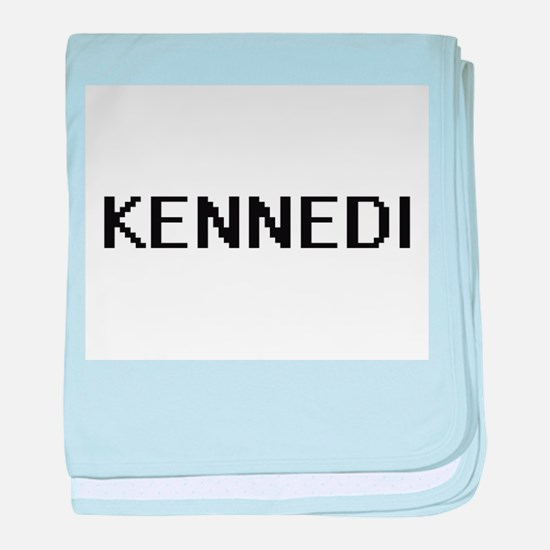 Kennedi Digital Name baby blanket