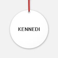 Kennedi Digital Name Ornament (Round)