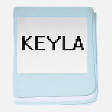 Keyla Digital Name baby blanket