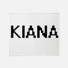 Kiana Digital Name Throw Blanket