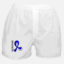 Colon Cancer Survivor 12 Boxer Shorts