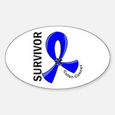 Colon Cancer Survivor 12 Decal