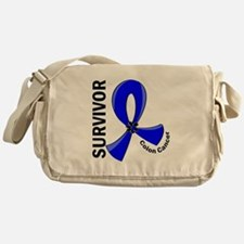 Colon Cancer Survivor 12 Messenger Bag