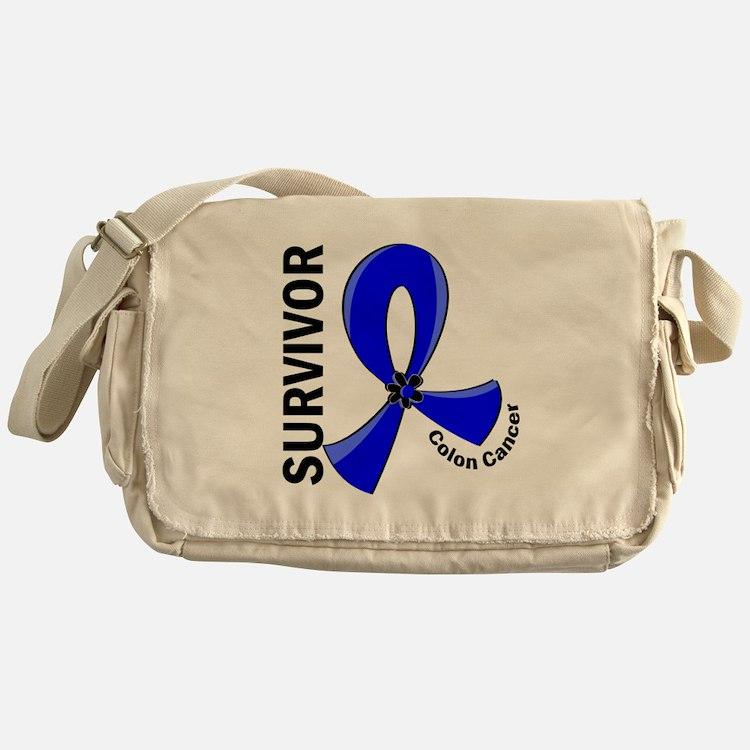 Colon Cancer Survivor 12 Messenger Bag