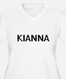 Kianna Digital Name Plus Size T-Shirt