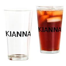 Kianna Digital Name Drinking Glass
