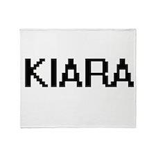 Kiara Digital Name Throw Blanket