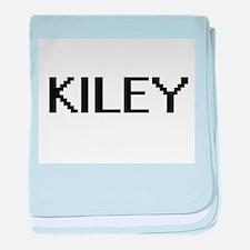 Kiley Digital Name baby blanket