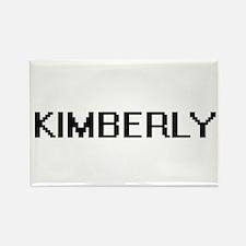 Kimberly Digital Name Magnets