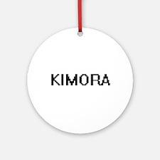 Kimora Digital Name Ornament (Round)