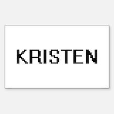 Kristen Digital Name Decal