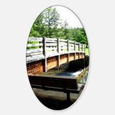 Funny Forest bridge Decal