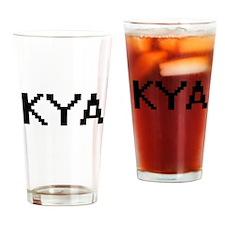 Kya Digital Name Drinking Glass