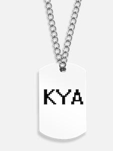 Kya Digital Name Dog Tags