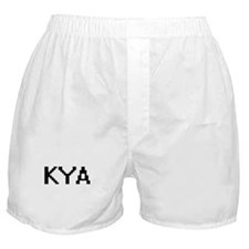 Kya Digital Name Boxer Shorts