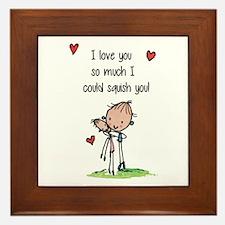 I Love You So Much... Framed Tile